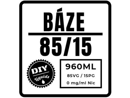Beznikotinová Báze 85/15 960ML