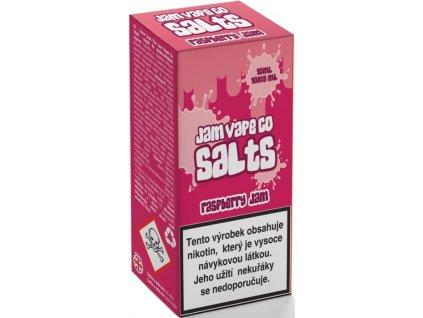 Juice Sauz e-liquid Jam Vape Co Raspberry Jam 10ml - 10mg nikotinu/ml