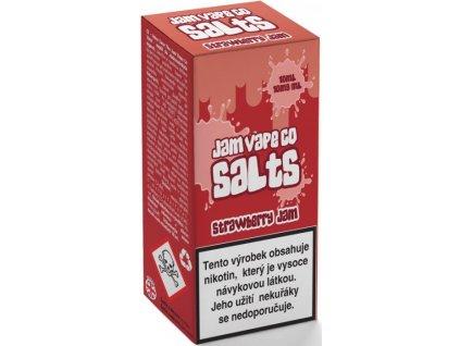 Juice Sauz e-liquid Jam Vape Co Strawberry Jam 10ml - 10mg nikotinu/ml