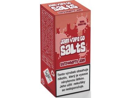 Juice Sauz e-liquid Jam Vape Co Strawberry Jam 10ml - 20mg nikotinu/ml