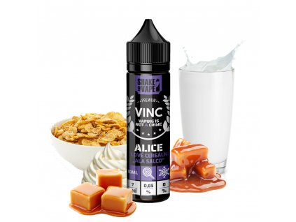 Good Liquid Příchuť VINC Alice Shake and Vape 10ml