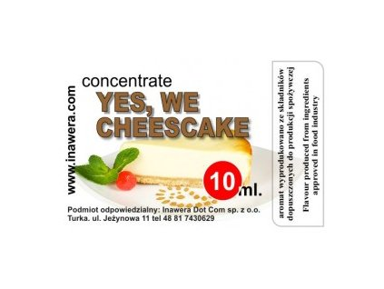 INW YES, WE CHEESECAKE / Cheesecake