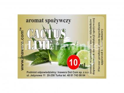 INW CACTUS - LIME / Kaktus a limeta