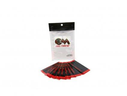 COIL MASTER PVC teplem smršťovací obal na 18650 baterie 10ks