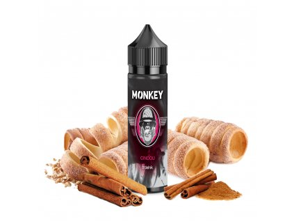 Příchuť MONKEY liquid Cindou Shake and Vape 12ml
