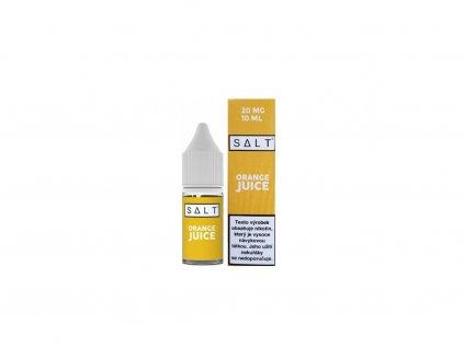 e-liquid Juice Sauz SALT Orange Juice 10ml - 10mg nikotinu/ml