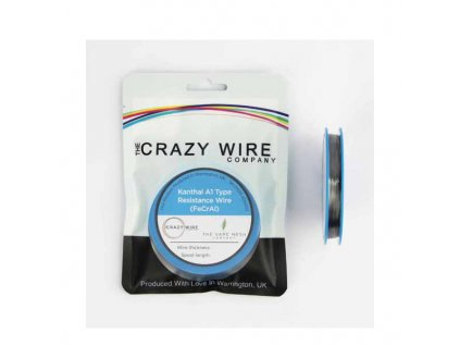 The Crazy Wire Company The Crazy Wire KA1 - Kanthalový odporový drát 10m 29GA 0,3mm