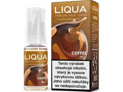 RITCHY e-liquid LIQUA Elements Coffee 10ml - 3mg nikotinu/ml