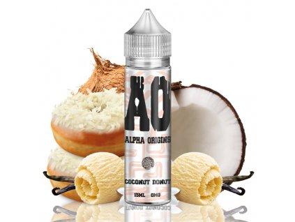 Příchuť Alpha Origins Shake and Vape Coconut Donut 15ml