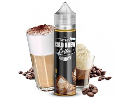 Nasty Juice Příchuť Nitros Cold Brew Coffee Macchiato 20ml