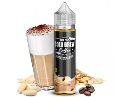 Nasty Juice Příchuť Nitros Cold Brew Coffee Almond Cappuccino 20ml