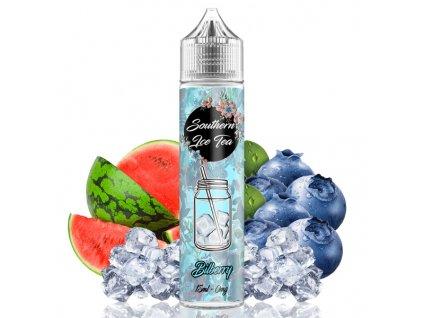 TI Juice Příchuť Southern Ice Tea Shake and Vape Billberry 15ml