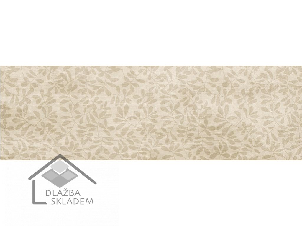 La Fenice Shabby Wood Dec. Petali Avorio 15x60