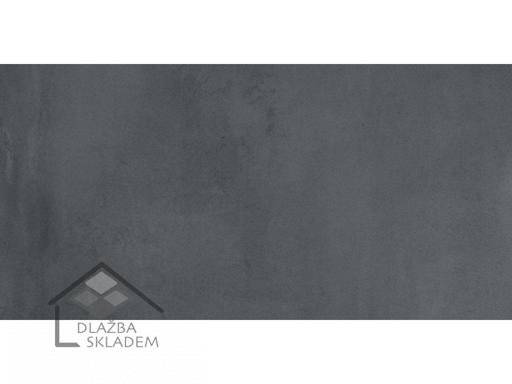 La Fenice X-beton Steel Black 30,5x61 Rett.