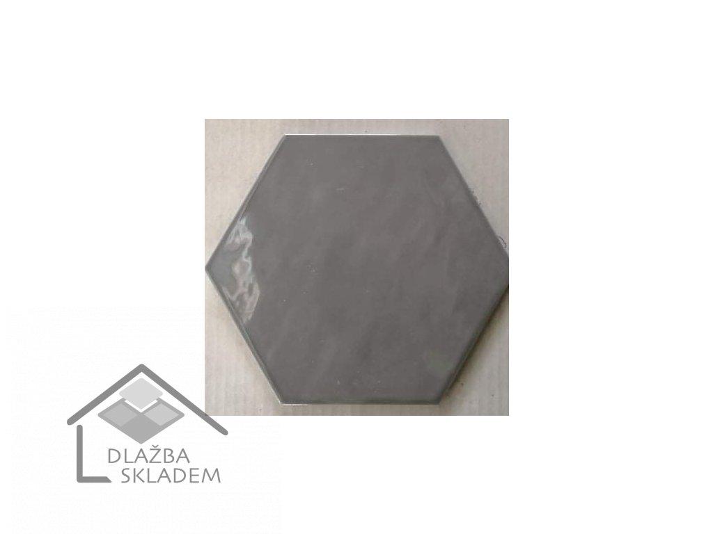 Deceram Hex Devon Light Grey 17,5x20,2