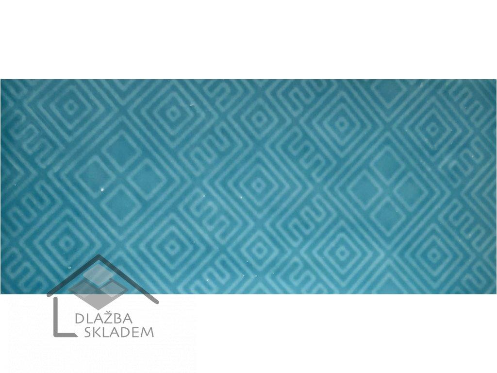 Deceram Devon TUK Aquamarina 7,5x15 Mix