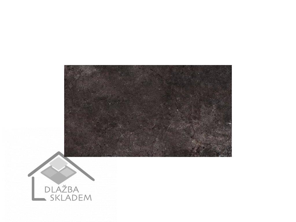 Deceram Outdoor Black 45x90 (tl. 2cm)