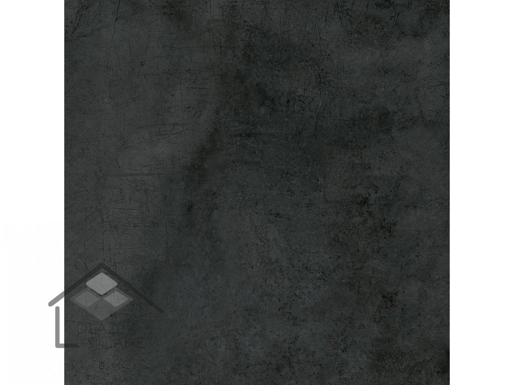 Deceram Outdoor LY Black 80x80 (tl. 2cm)