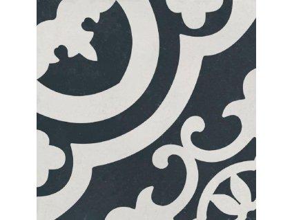Del Conca Cementina Black and White 20x20