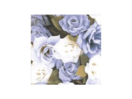 Brennero Ricordi Blooming Bleu dec. 20x20