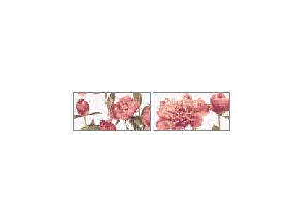 Brennero Ricordi Blooming Bordeaux 2 pz. misti list. 9,5x20