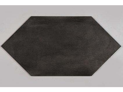 Settecento GEA Losanga Antracite 47,8x95,2 (snížená jakost)