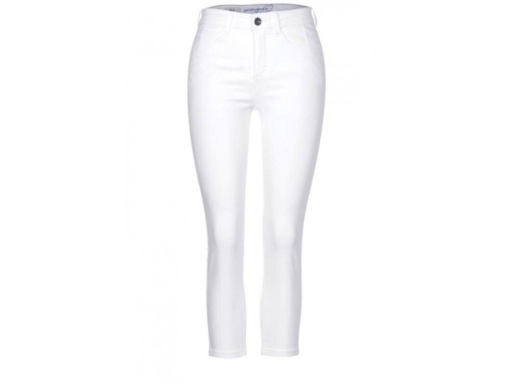 Street One dámské bílé 7/8 jeans York