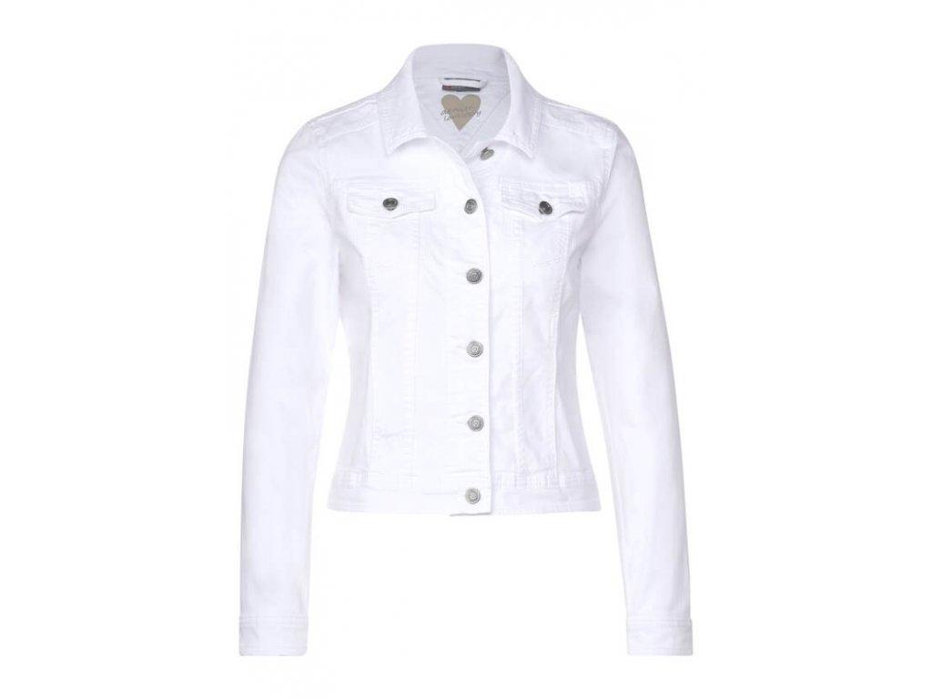 Street One bílá džínová bunda Roxana