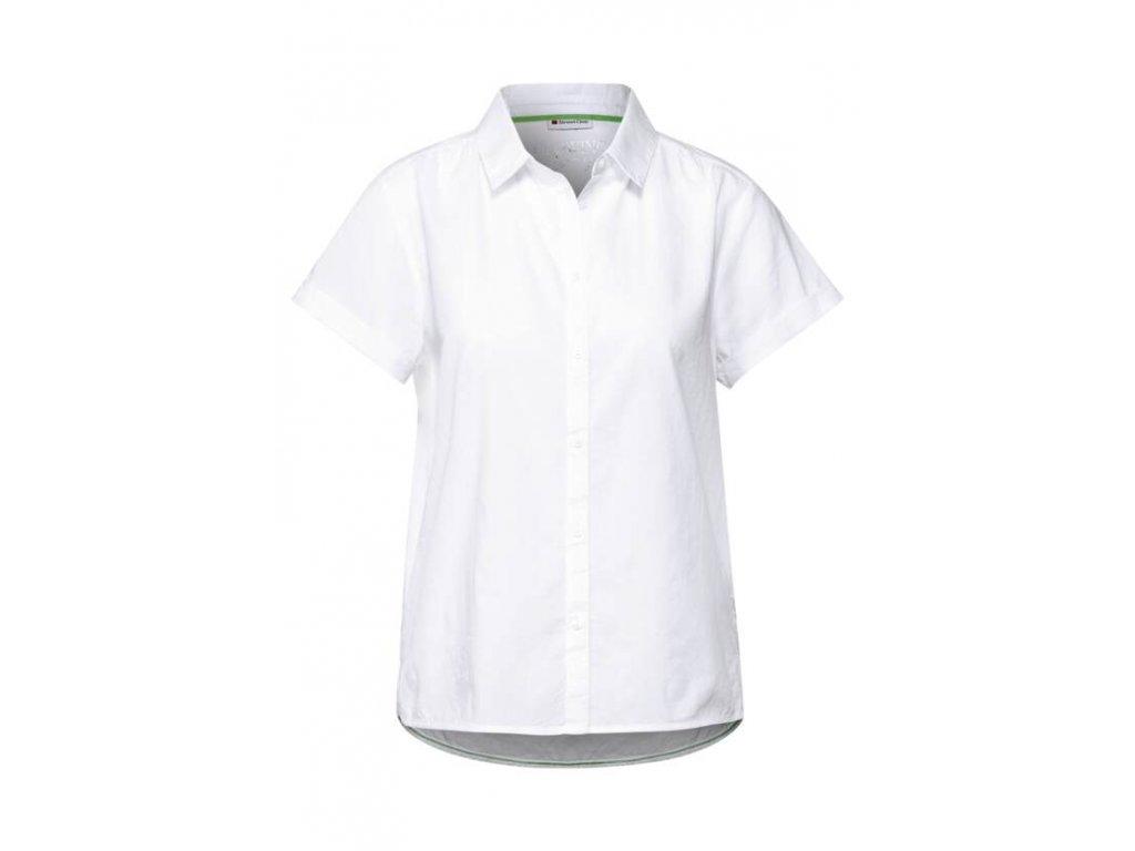 Street One košile s krátkými rukávy bílá