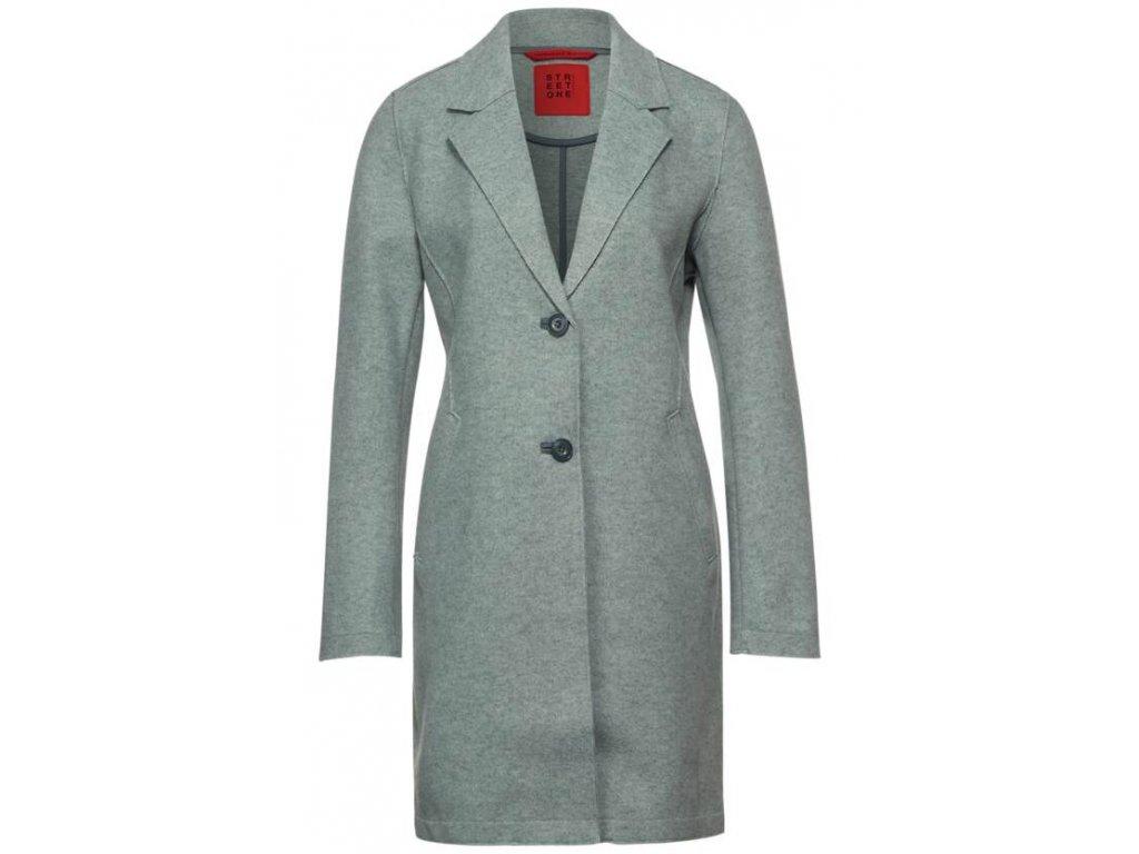 Street One šedý kabát 201591