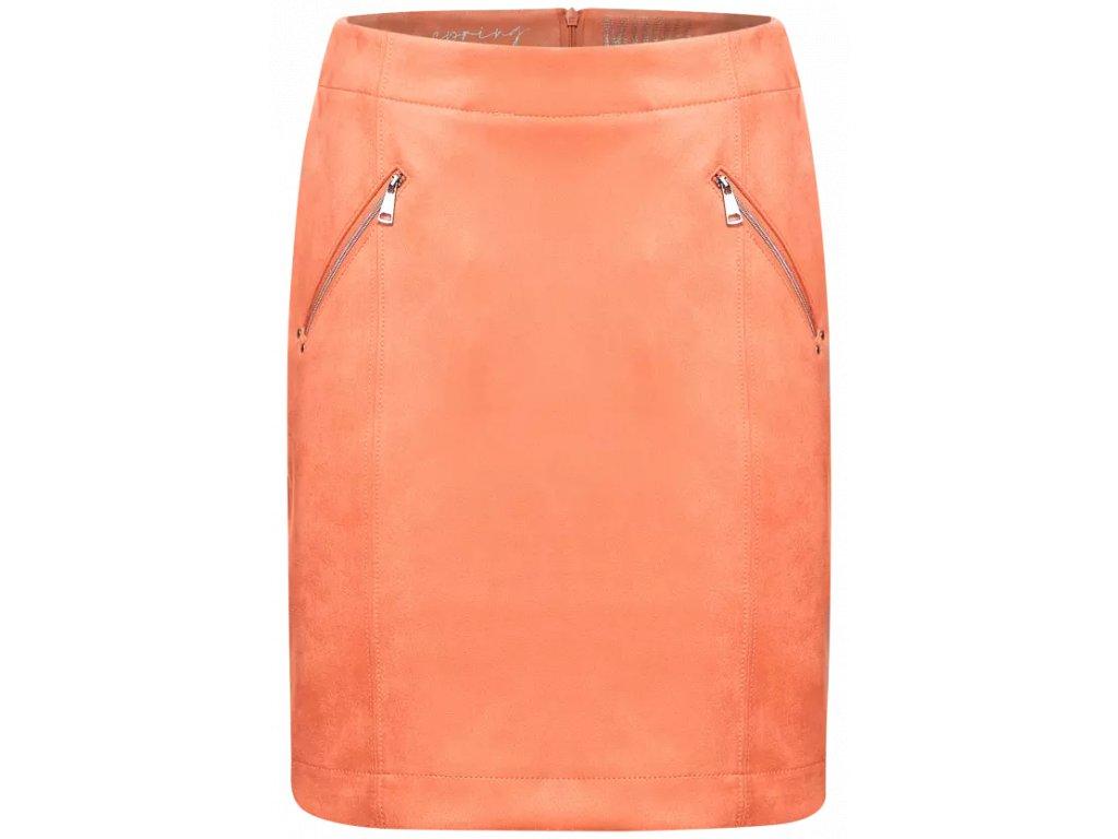 Street One oranžová sukně