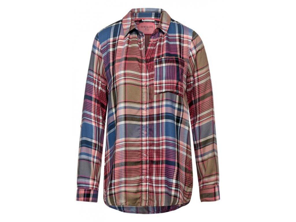 Street One kostkovaná košile 342853