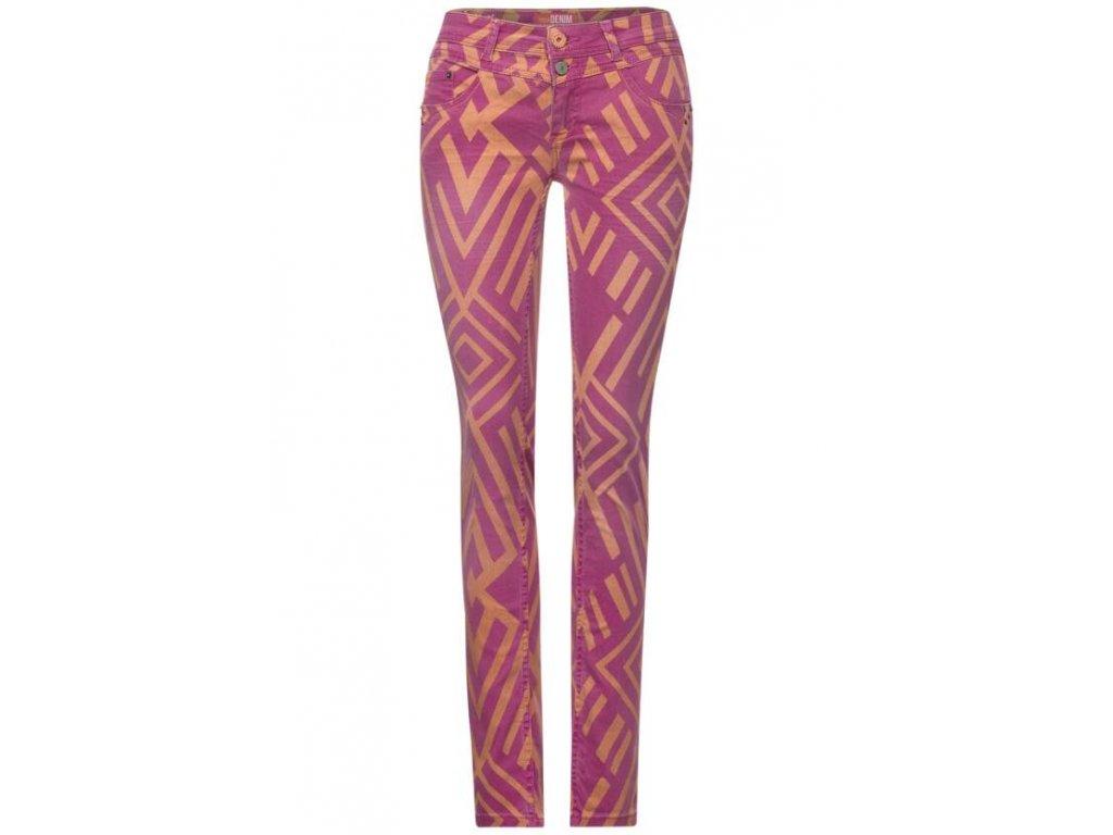 Street One dámské vzorované jeans