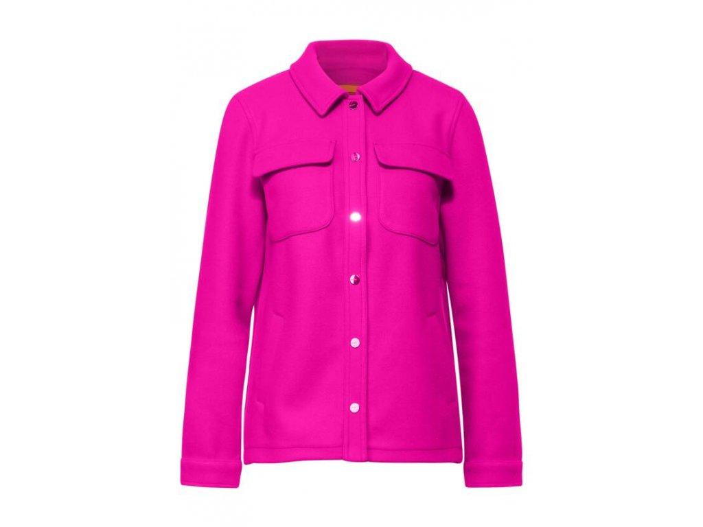 Street One růžová bundo košile