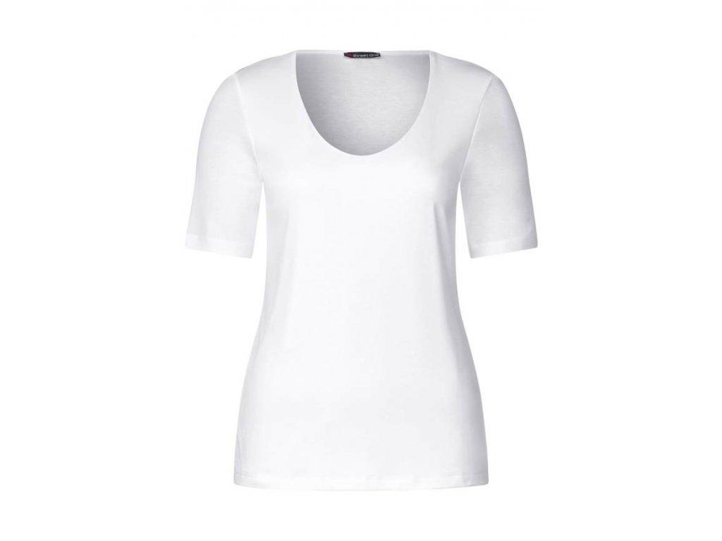 Street One dámské bílé triko Palmira