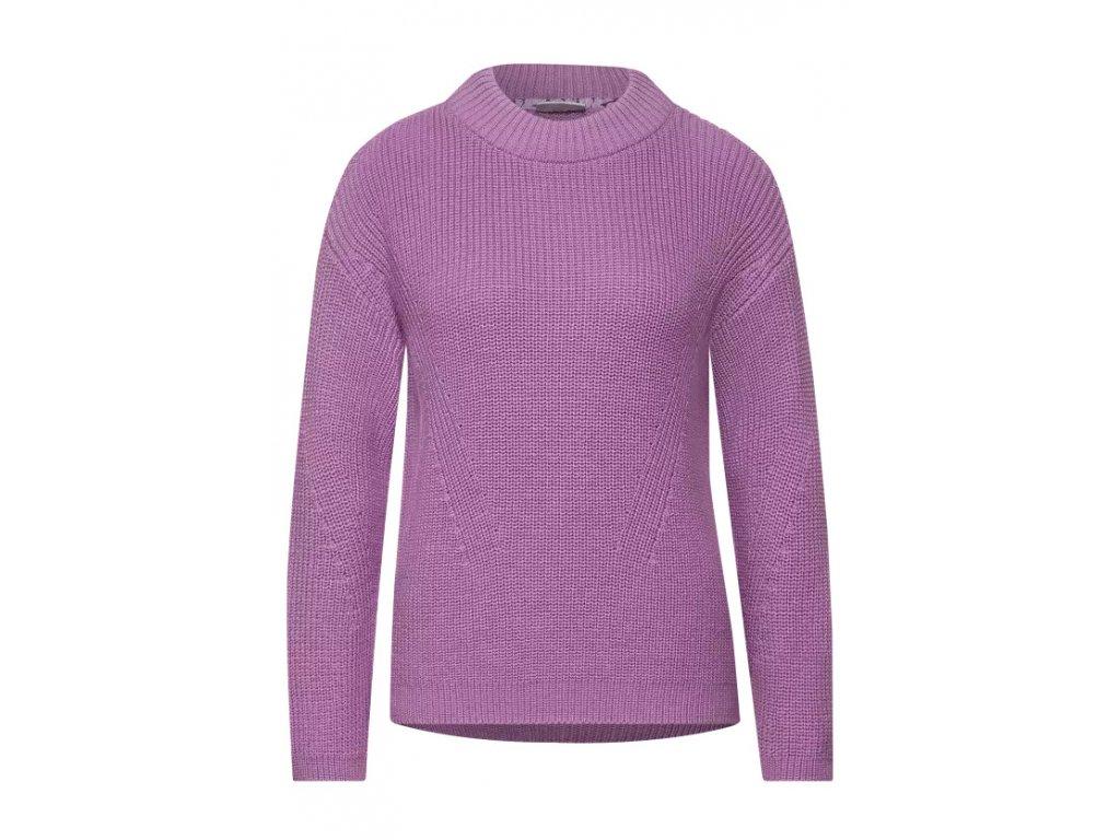 Street One dámský fialový svetr
