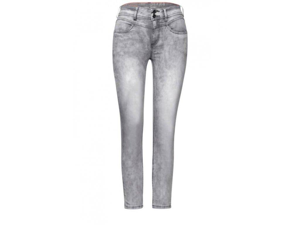 Street One šedé jeans York