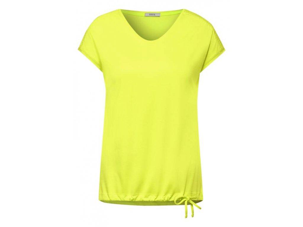 Cecil triko jasně žlutá barva