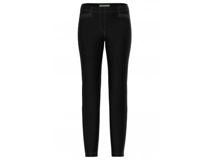 Bianca černé strečové kalhoty Denver