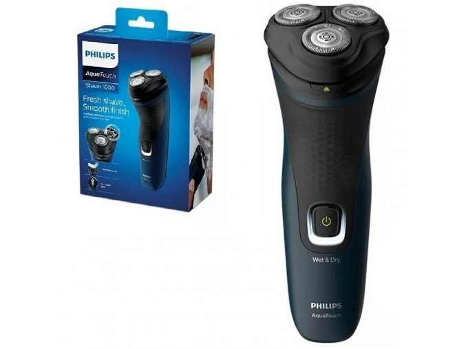Philips Electric Wet or Dry Shaver Black S112141 3 81387 zoom