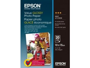 EPSON Value Photo Paper Glossy 10x15cm 100 listů C13S400039