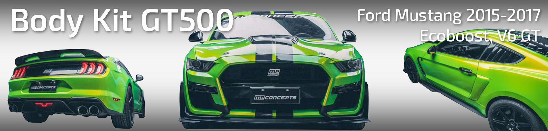 Body kit GT500 - (MUSTANG 15-17 V6, GT, Ecoboost)