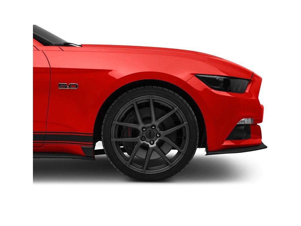 GT350 Style Rocker Winglets (MUSTANG 15-20 GT, Ecoboost, V6)