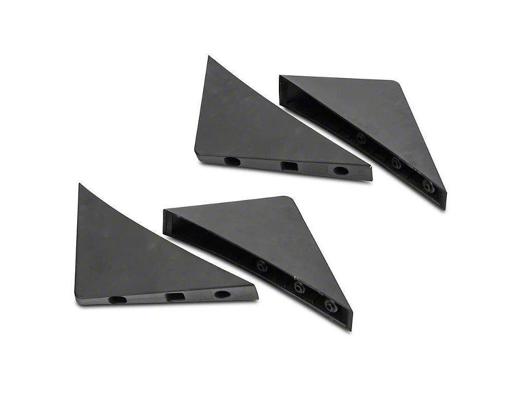 MP Concepts Rear Diffuser Fins (MUSTANG 15-17 BASE)