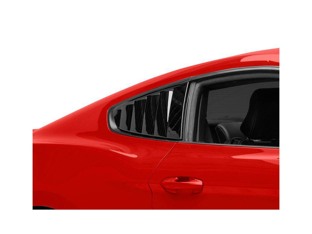 Quarter Window Louvers (MUSTANG 15-20 Fastback)