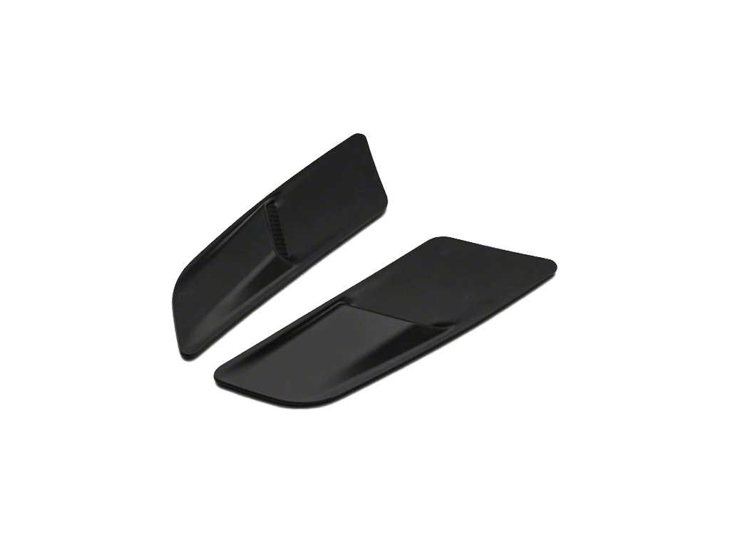 Hood Vent Louvers - Gloss Black (MUSTANG 15-17 Ecoboost, V6)