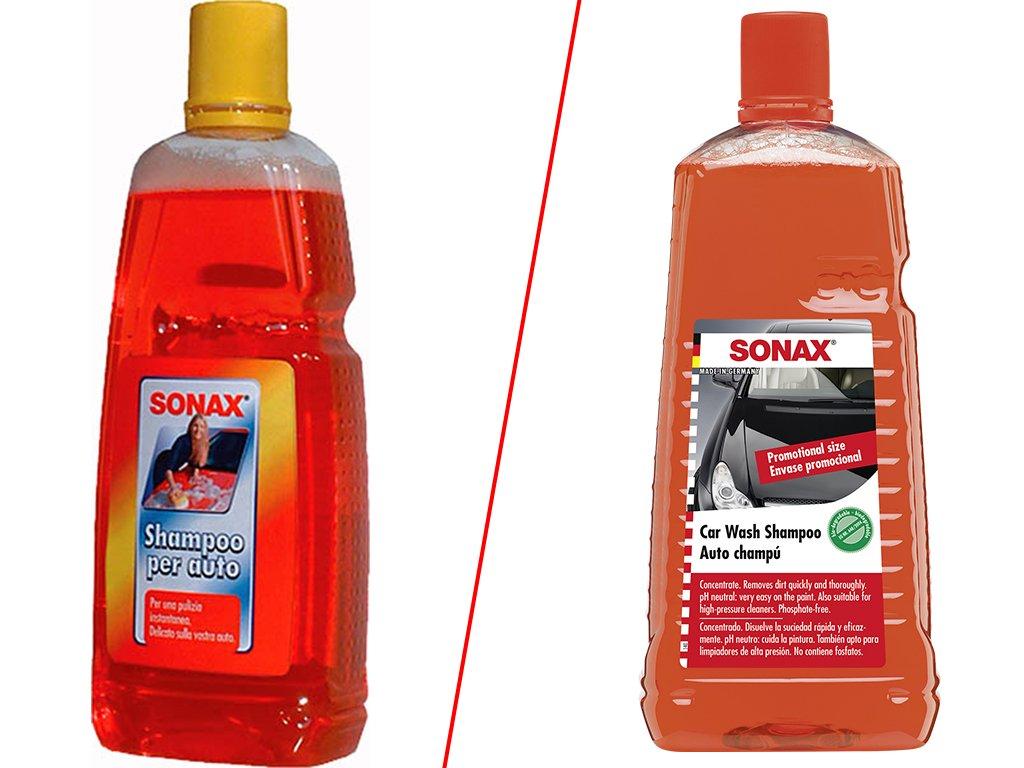 SONAX Učinný autošampon - koncentrát