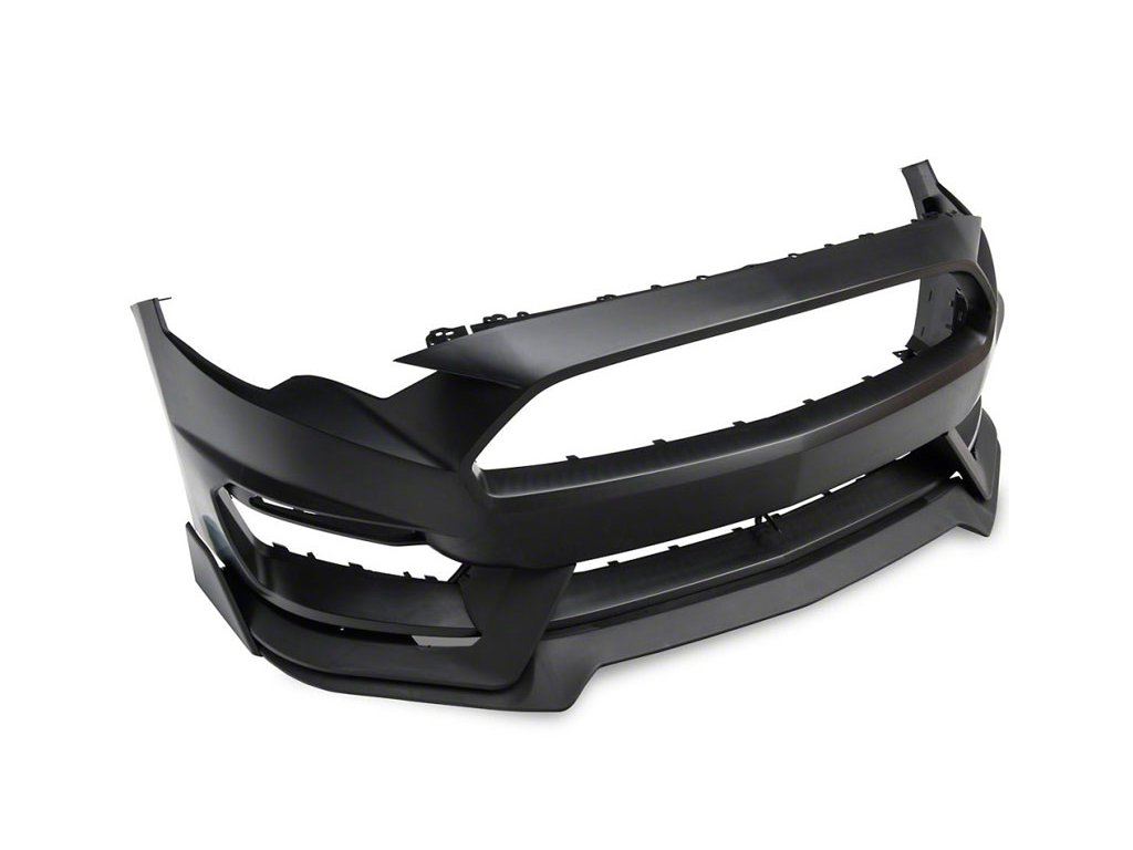 GT350 Style Front Bumper - Unpainted (MUSTANG 18-20 EcoBoost, GT)