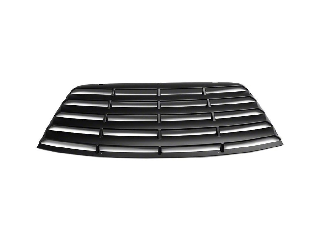 Rear Window Louvers - Matte Black (CHALLENGER 08-19)