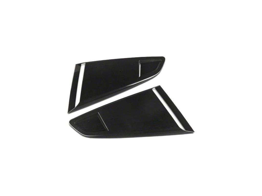Quarter Window Scoops - Opened (MUSTANG 15-20 Fastback)